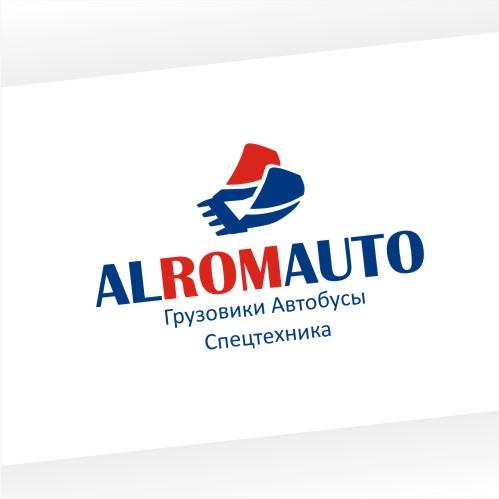 Создание логотипа ALROMAUTO