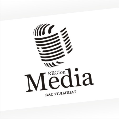 Создание логотипа REGION MEDIA