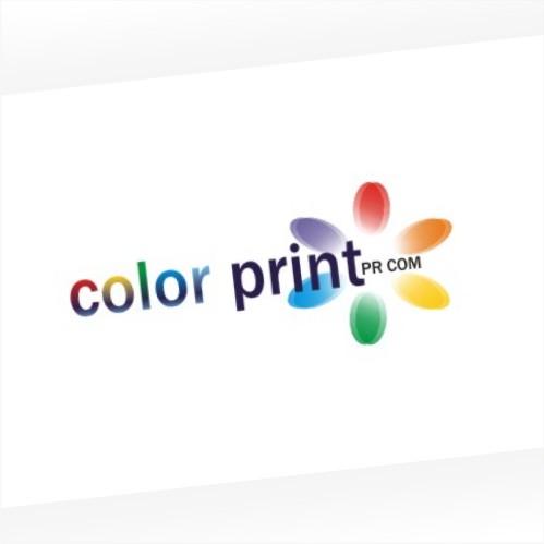 Создание логотипа Color Print