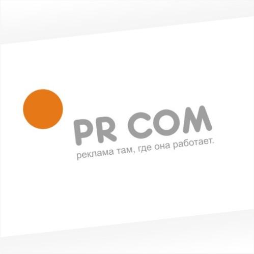 Создание логотипа PR COM